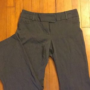 Dark gray dress pant